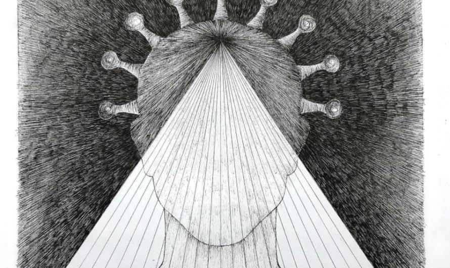 Angelika Gigauri: Zeichnungen zur Corona-Krise