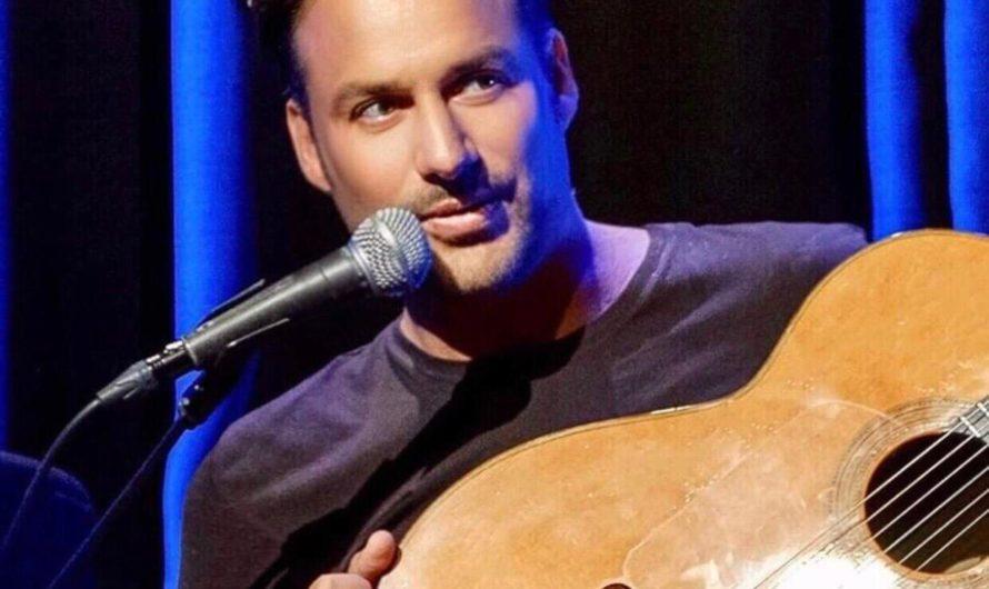 Der Gitarrist André Krengel trotzt dem Auftrittsverbot
