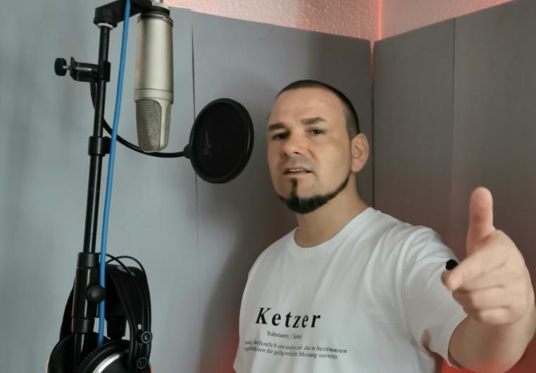 Rapper Pascito ruft in seinen Songs zur Eigenverantwortung auf