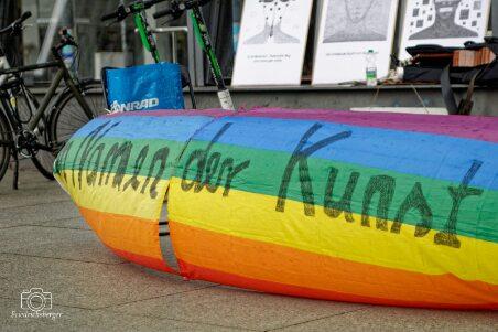 Berliner Mahnwache am Potsdamer Platz erinnert an die Nöte der Kulturschaffenden