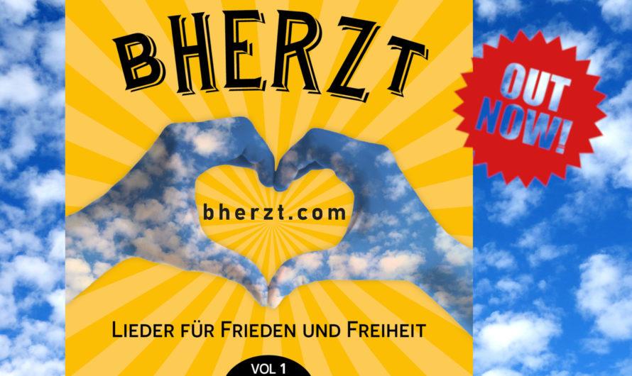 «bHERZt» – Ein Sammelalbum für Frieden und Freiheit