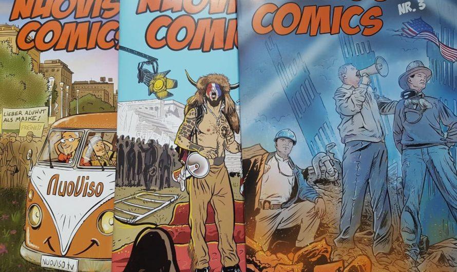 «NuoViso Comics» – Witzige Geschichten über gesellschaftliche und politische Ereignisse