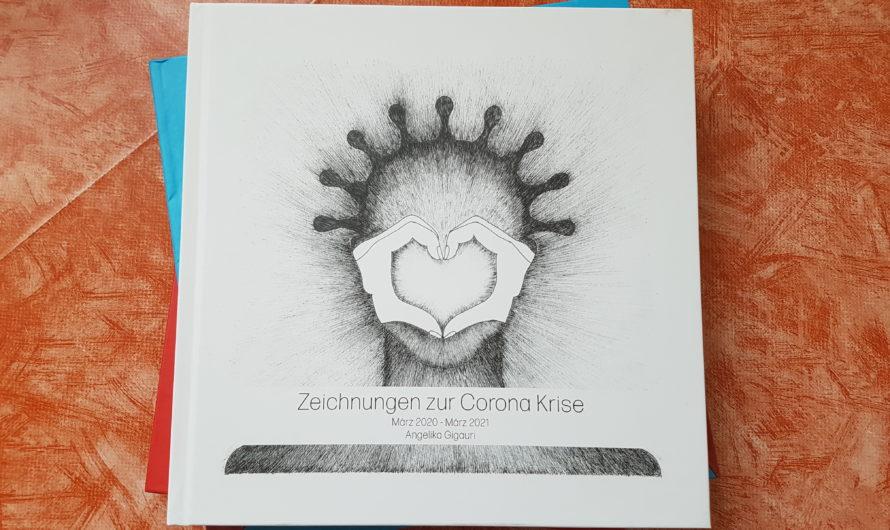 «Zeichnungen zur Corona Krise» – Ein Bildband von Angelika Gigauri