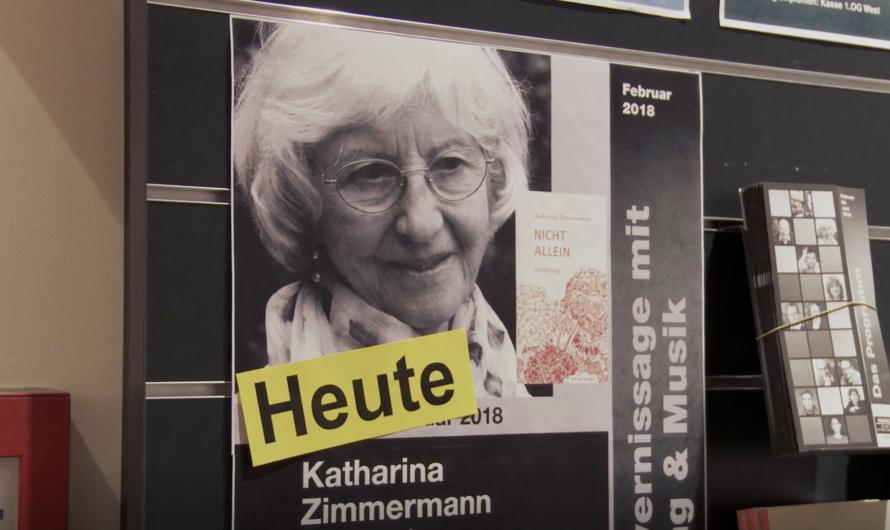 «Das letzte Buch» – Doku über die Schweizer Schriftstellerin Katharina Zimmermann