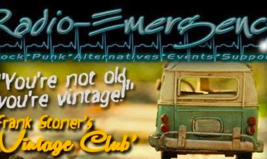 «Vintage Club» – Frank Stoner sorgt für gute Laune mit der Musik der 60er, 70er und 80er